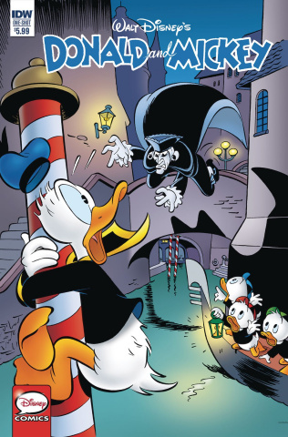 Donald and Mickey Quarterly Treasure: Menace in Venice