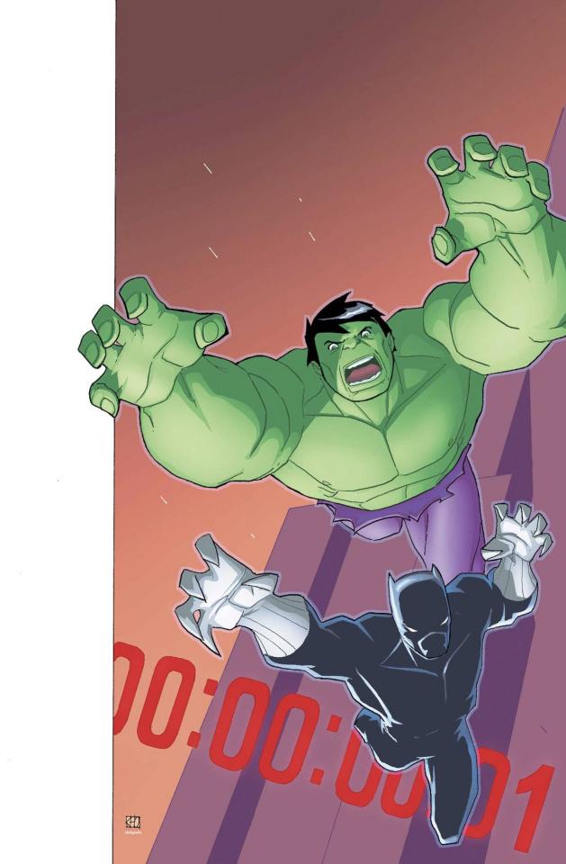 Marvel Universe Avengers: Earth's Mightiest Heroes #8