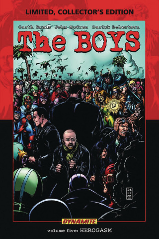 The Boys Vol. 5: Herogasm (Robertson Signed Edition)
