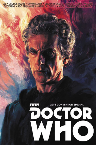 Doctor Who: The Long Con (Zhang Cover)