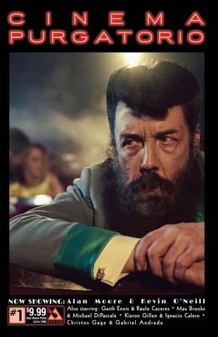 Cinema Purgatorio #1 (Alan Moore Photo Cover)