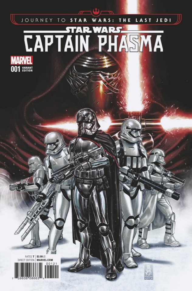 Journey to Star Wars: The Last Jedi - Captain Phasma #1 (Brooks Cover)