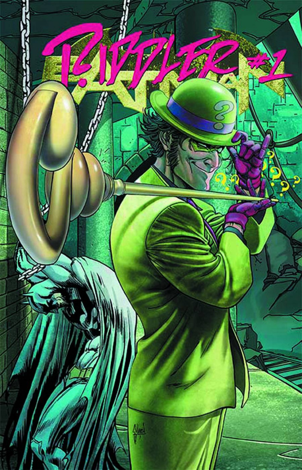 Batman #23.2: Riddler Standard Cover