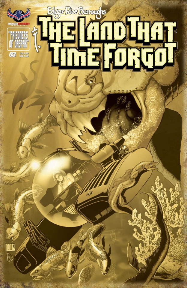The Land That Time Forgot #3 (3 Copy Cover)