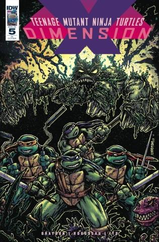 Teenage Mutant Ninja Turtles: Dimension X #5 (10 Copy Cover)