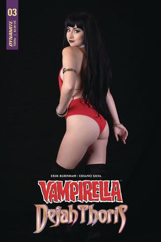 Vampirella / Dejah Thoris #3 (Vampirella Cosplay Cover)