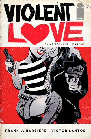 Violent Love #1 (Santos Cover)