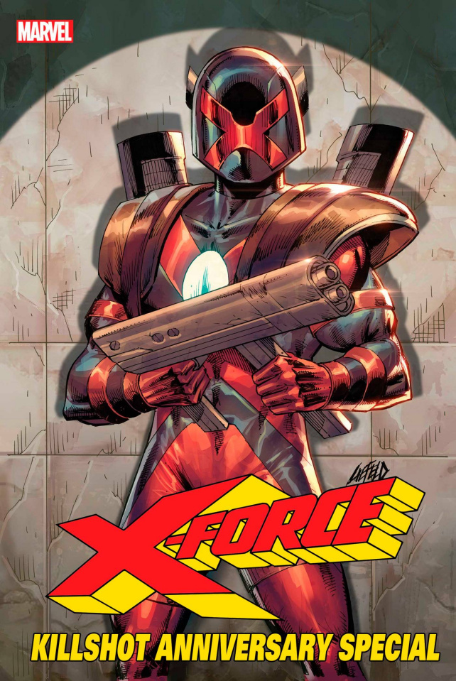 X-Force Killshot Anniversary Special #1 (Connecting C Cover)