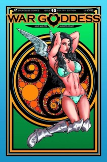 War Goddess #10 (Sultry Cover)