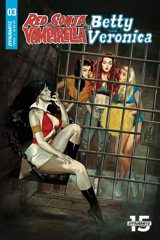 Red Sonja and Vampirella Meet Betty and Veronica #3 (Dalton Cover)