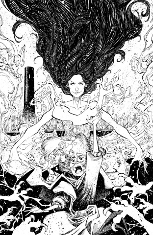 The Last Witch #3 (25 Copy Corona Cover)