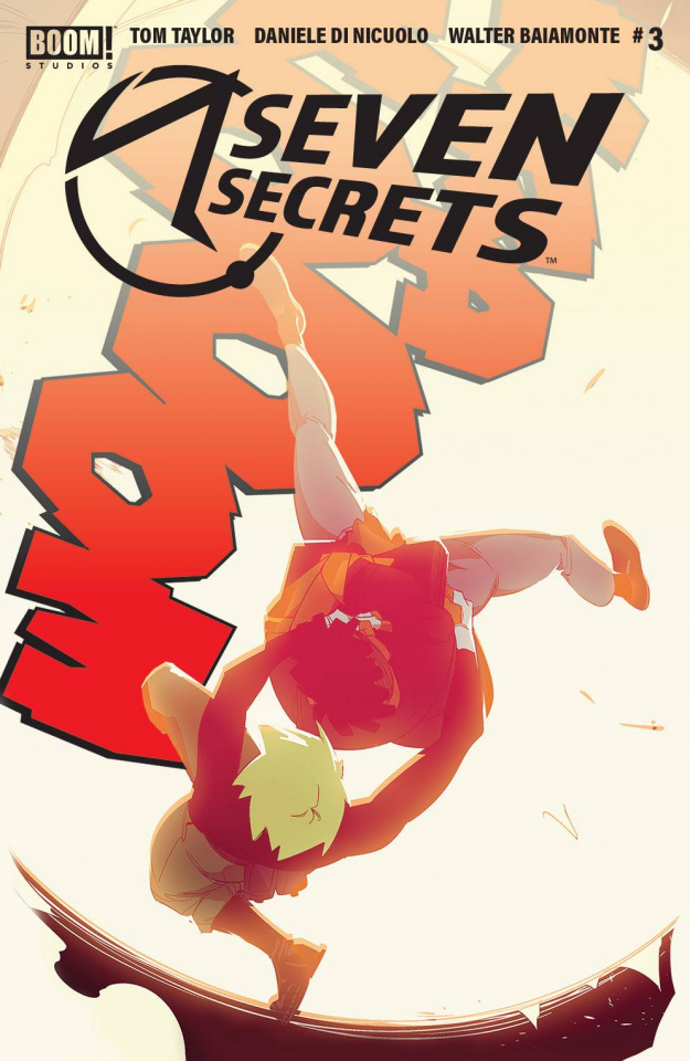 Seven Secrets #3 (2nd Printing)