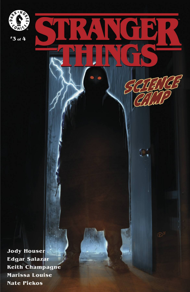 Stranger Things: Science Camp #3 (Kalvachev Cover)
