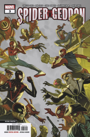 Spider-Geddon #3 (Barberi 2nd Printing)