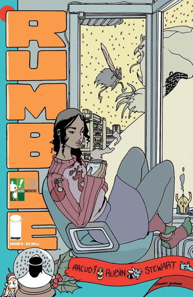 Rumble #10 (Hero Initiative Cover)