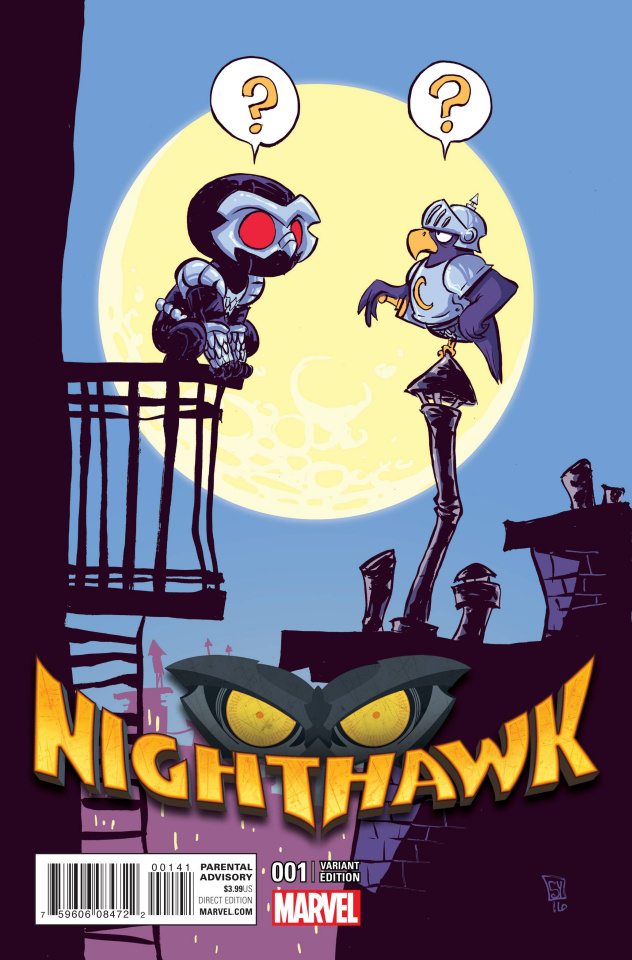 Nighthawk #1 (Young Cover)