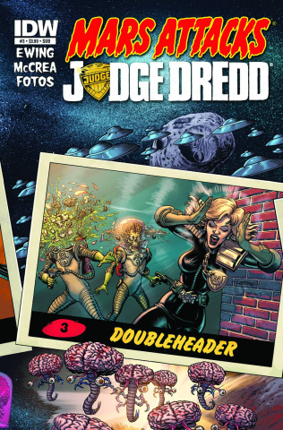 Mars Attacks Judge Dredd #3 (Subscription Cover)