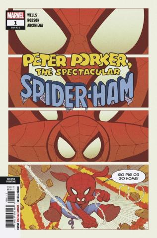 Spider-Ham #1 (Robson 2nd Printing)