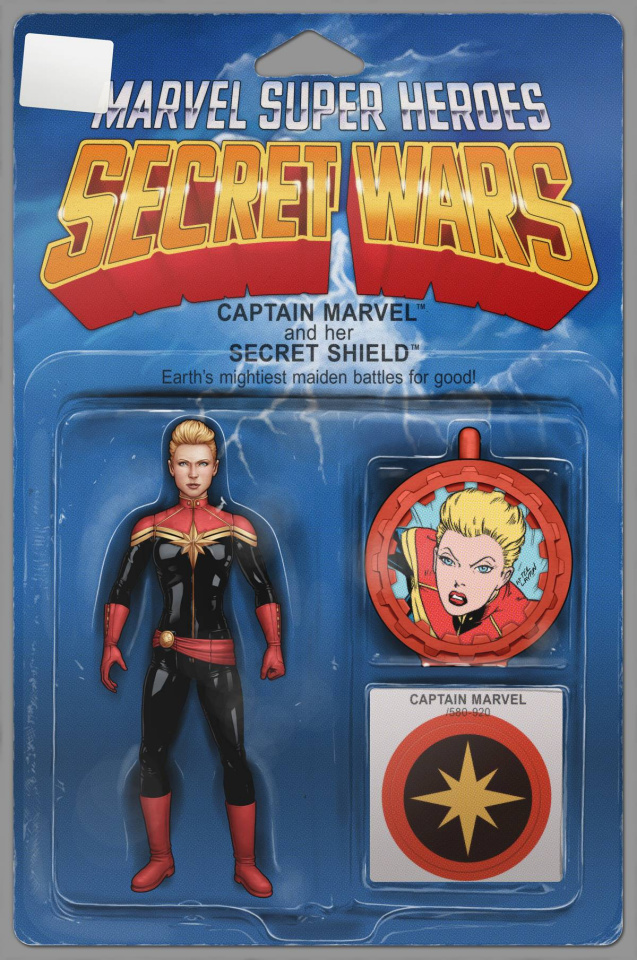 Captain Marvel and the Carol Corps #1 (Action Figure Cover)
