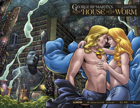 In the House of the Worm #1 (Wrap Cover)