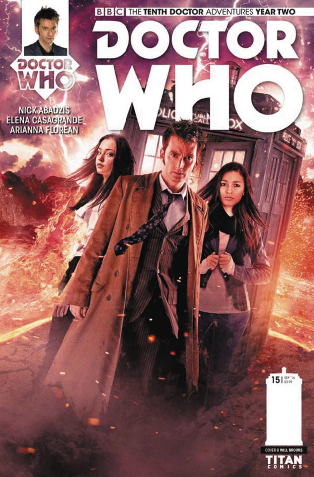 Doctor Who: New Adventures with the Tenth Doctor, Year Two #15 (Photo Cover)