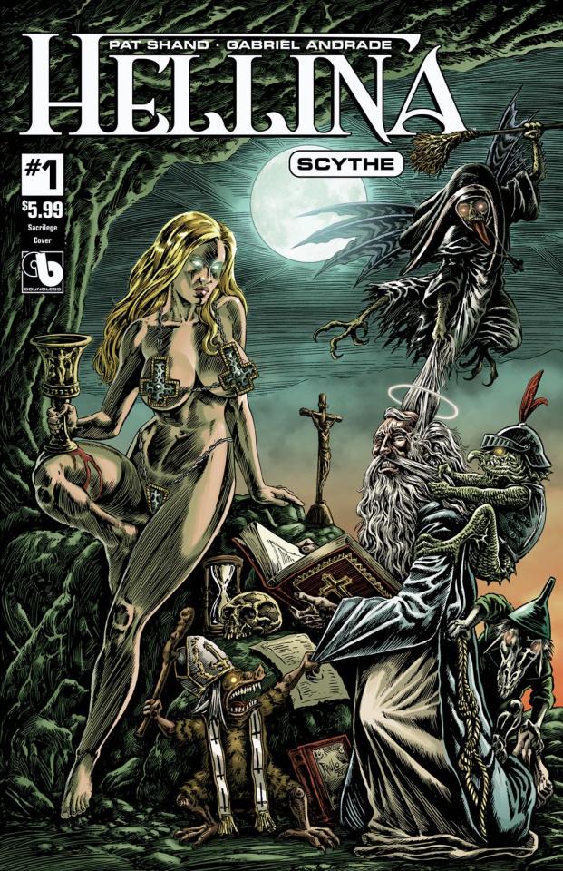 Hellina: Scythe #1 (Sacrilege Cover)