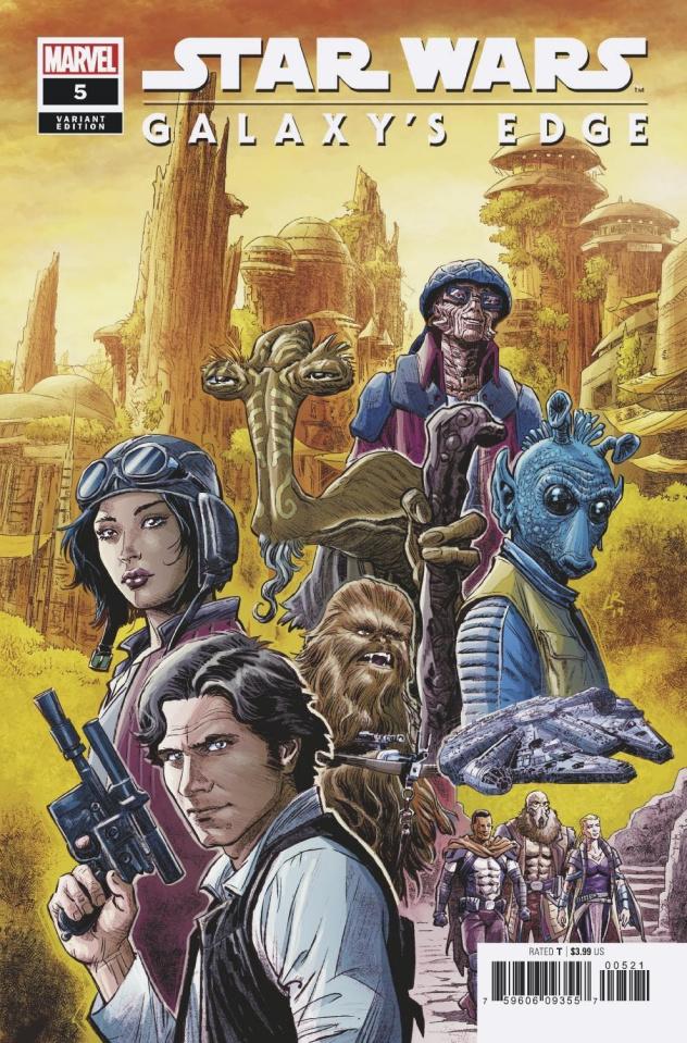 Star Wars: Galaxy's Edge #5 (Luke Ross Cover)