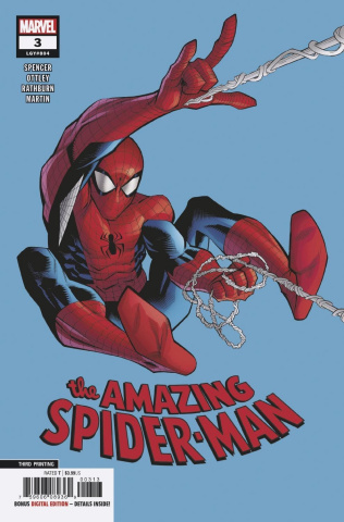 The Amazing Spider-Man #3 (Ottley 3rd Printing)