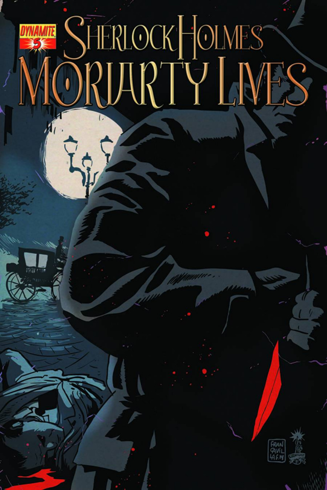 Sherlock Holmes: Moriarty Lives #5