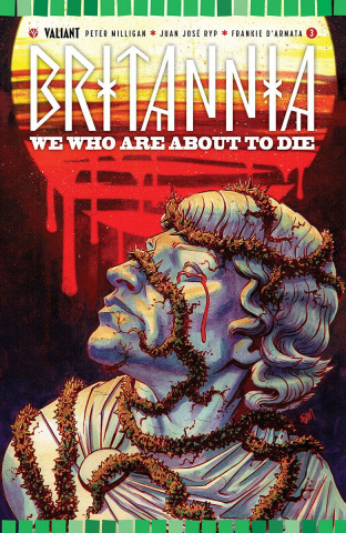 Britannia: We Who Are About to Die #3 (20 Copy Gorham Cover)