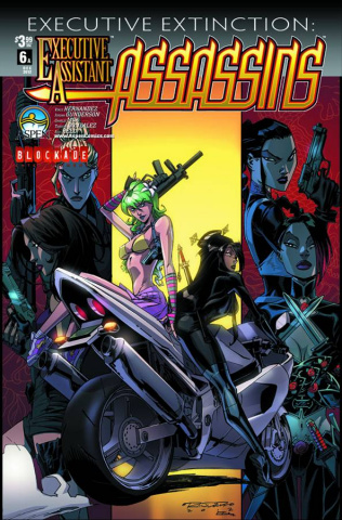 Executive Assistant: Assassins #6 (Randolph Cover)