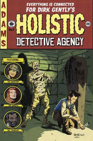 Dirk Gently's Holistic Detective Agency #3 (EC Cover)