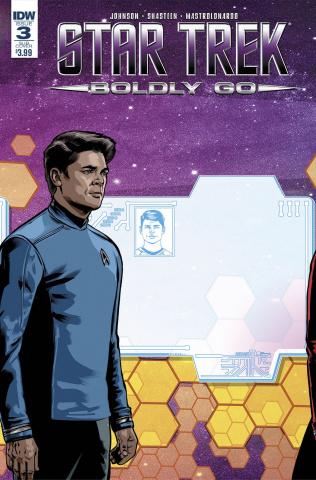 Star Trek: Boldly Go #3 (Subscription Cover)