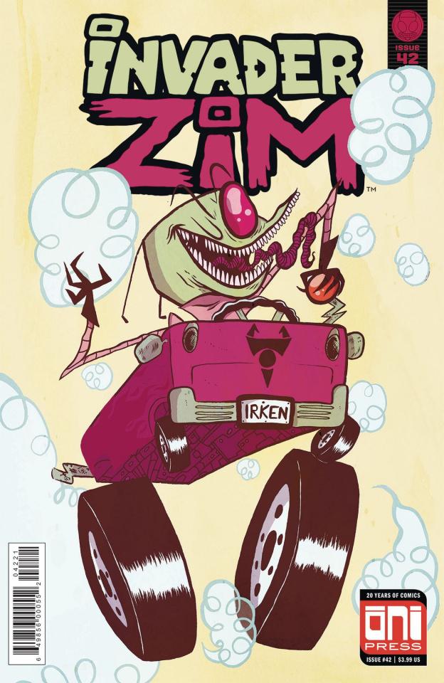 Invader Zim #42 (Adler Cover)