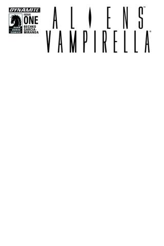 Aliens / Vampirella #1 (Blank Authentix Cover)