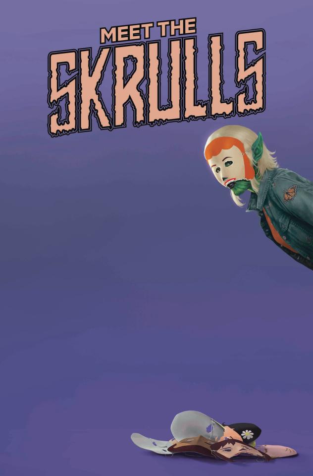 Meet the Skrulls #2 (Rahzzah Cover)