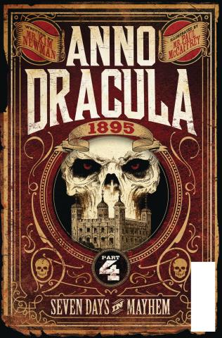 Anno Dracula #4 (Stiff Cover)