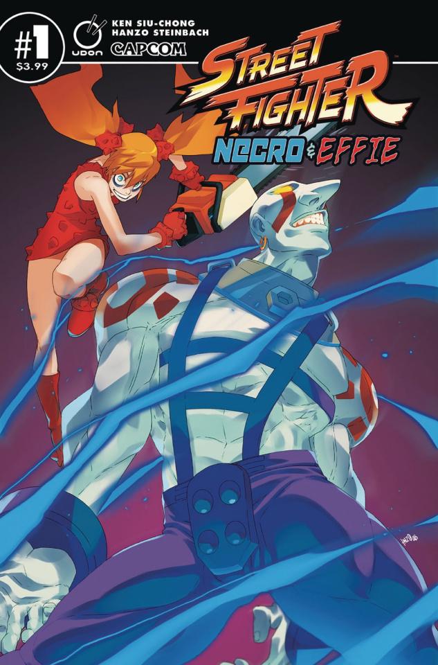 Street Fighter: Necro & Effie #1 (Steinbach Cover)
