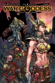 War Goddess #7 (Gore Cover)