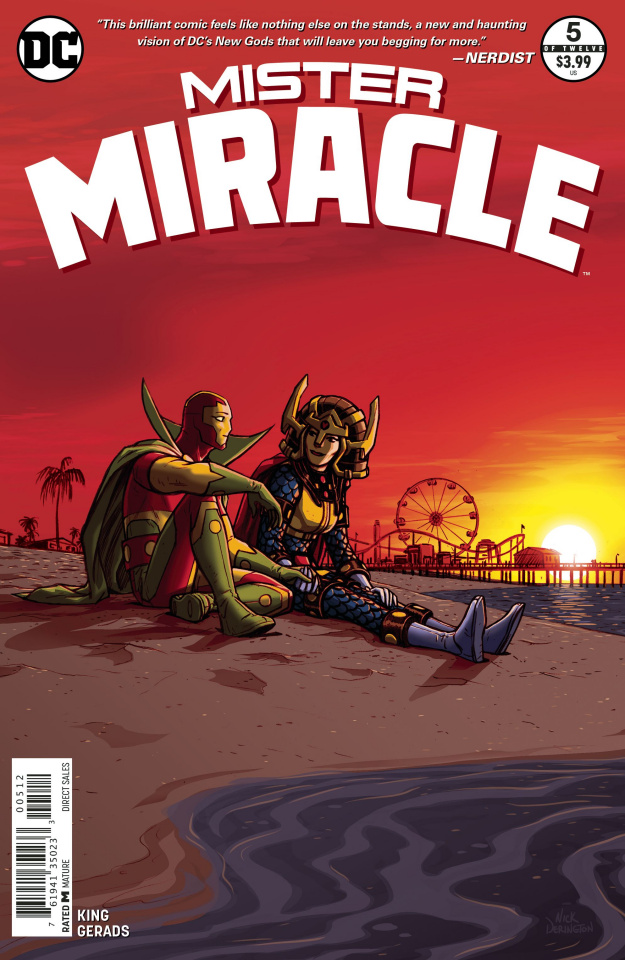 Mister Miracle #5 (2nd Printing)