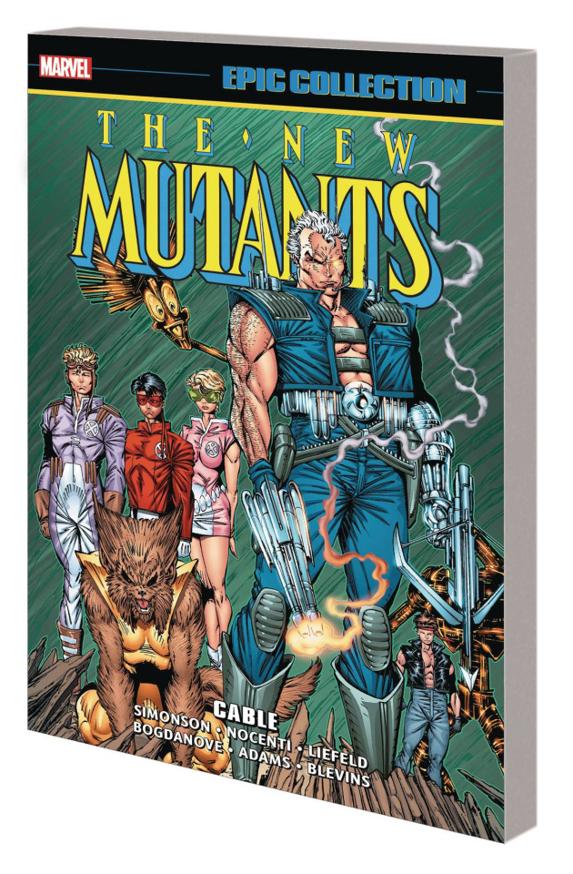 New Mutants: Cable (Epic Collection)