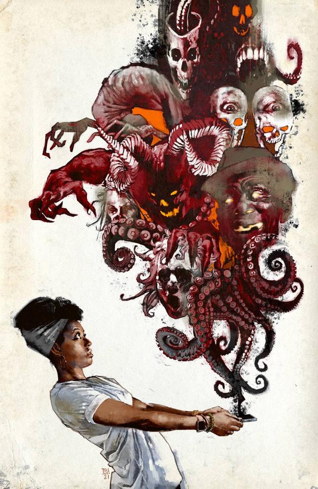 Nita Hawes' Nightmare Blog #1 (Alexander Cover)