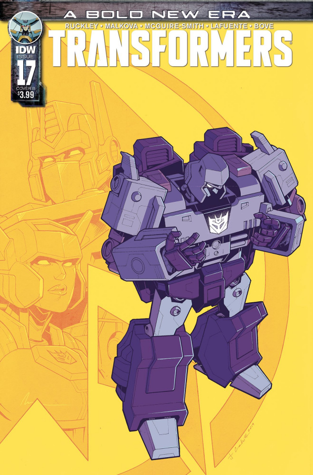 The Transformers #17 (Cahill Cover)