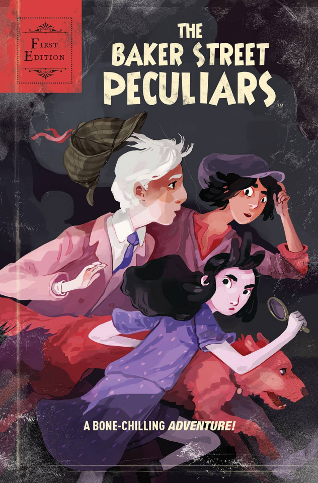 The Baker Street Peculiars #1 (10 Copy Christenson Cover)