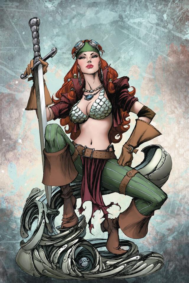 Legenderry: Red Sonja #2 (20 Copy Benitez Virgin Cover)