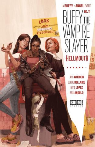 Buffy the Vampire Slayer #11 (Aspinall Cover)