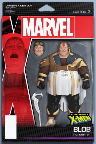 Uncanny X-Men #7 (Christopher Action Figure Cover)