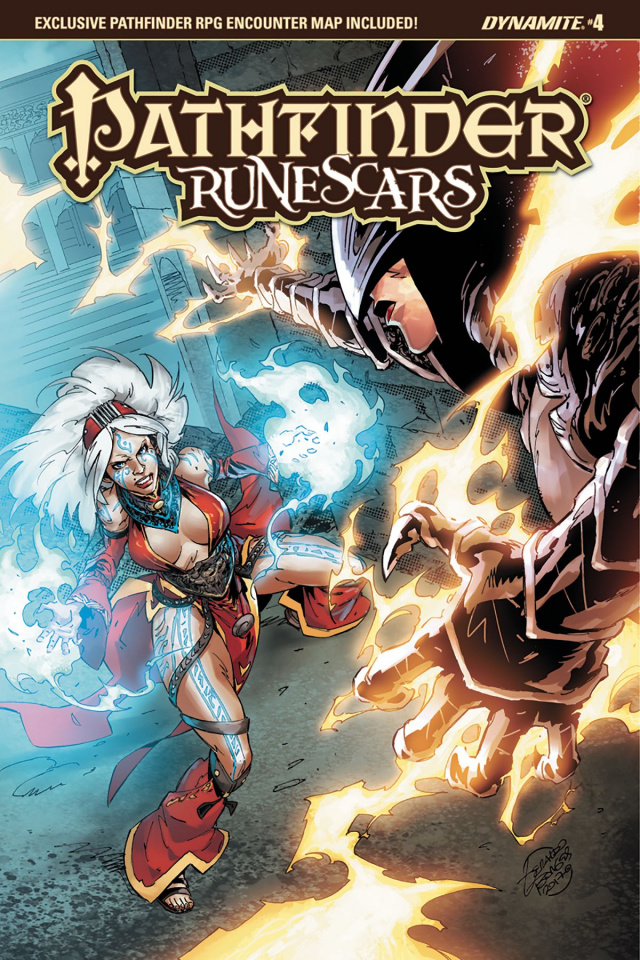 Pathfinder: Runescars #4 (Borges Cover)