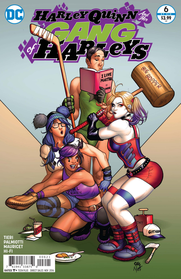 Harley Quinn and Her Gang of Harleys #6 (Variant Cover)