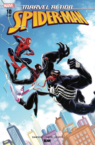 Marvel Action: Spider-Man #10 (Tinto Cover)